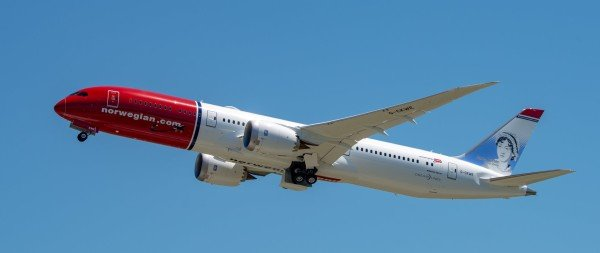Jane Austen Flies On Norwegian 787